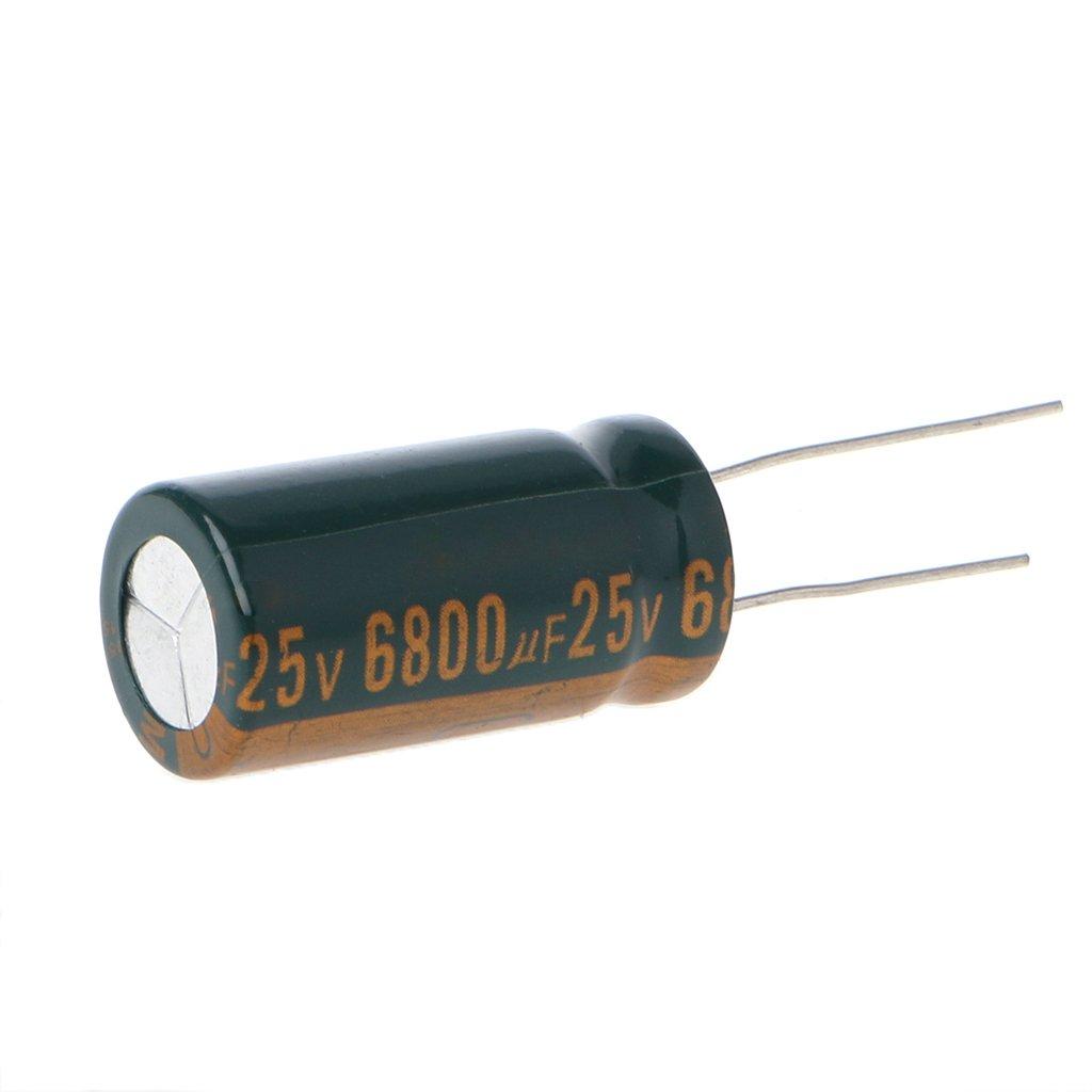 William-Lee 25 V, 6800 uF Condensador electrol/ítico radial de alta frecuencia y baja ESR