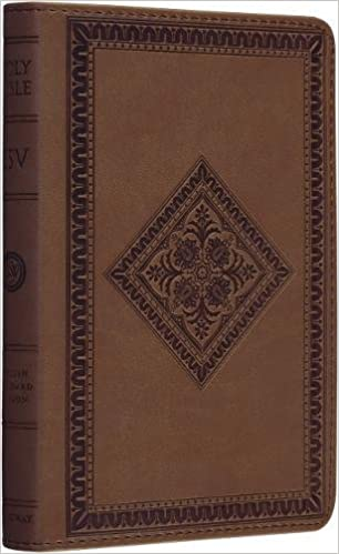 ESV Compact Bible (TruTone®, Tan, Diamond Design): Amazon co