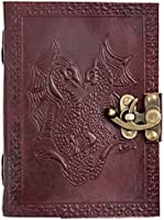 Save 20% on antique handmade leather journals and diaries