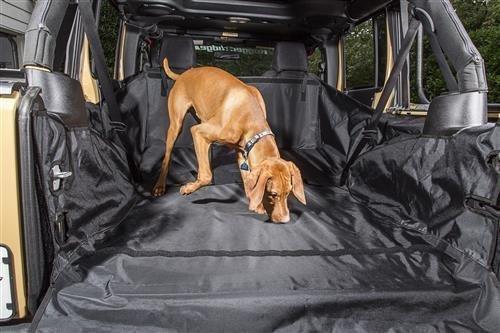Rugged Ridge 13260.01 C3 Cargo Cover (No Subwoofer) for 2007-2018 Jeep Wrangler JKU, 4-Door