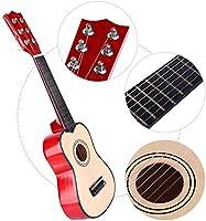 Alomejor Guitarra 21 Pulgadas Guitarra de Tilo Diapasón de Madera ...