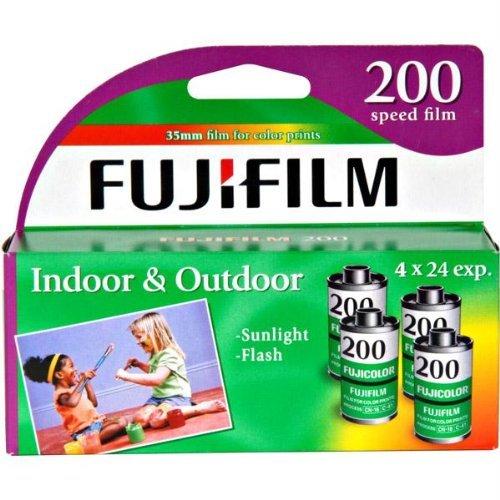 FujiFilm ISO 200 35mm Color Print Film 24 Exposures (8 Pack) by Fuji