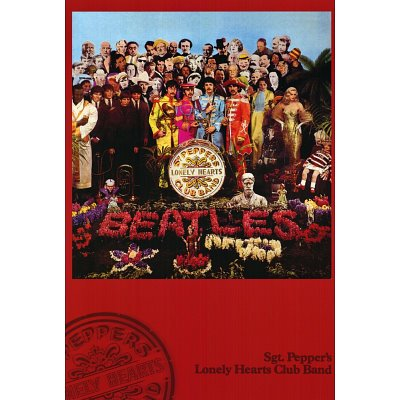 the beatles poster sgt pepper