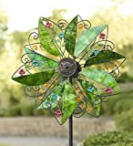 Solar Leaves Wind Spinner