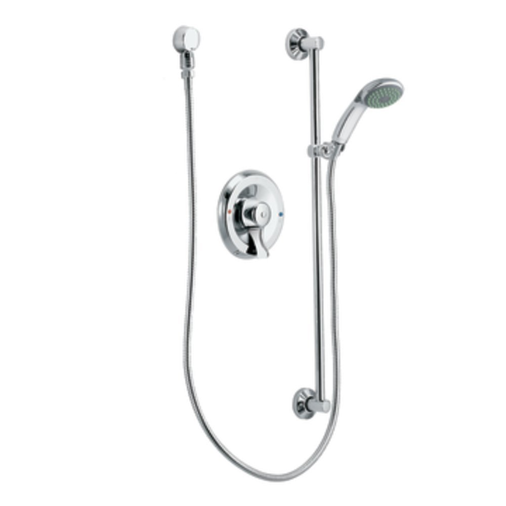 Moen T8346EP15 Commercial Posi-Temp Eco Performance Pressure Balancing Hand Shower System 1.5 gpm, Chrome