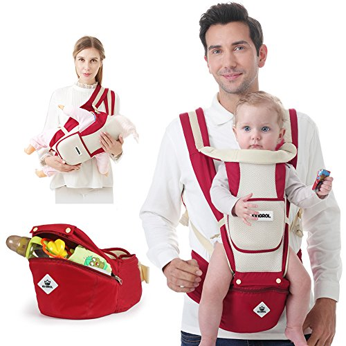 Fantastic Deal! Baby Carrier Sling All Carry with Hip Seat 360 All Carry Positions Award-Winning Erg...