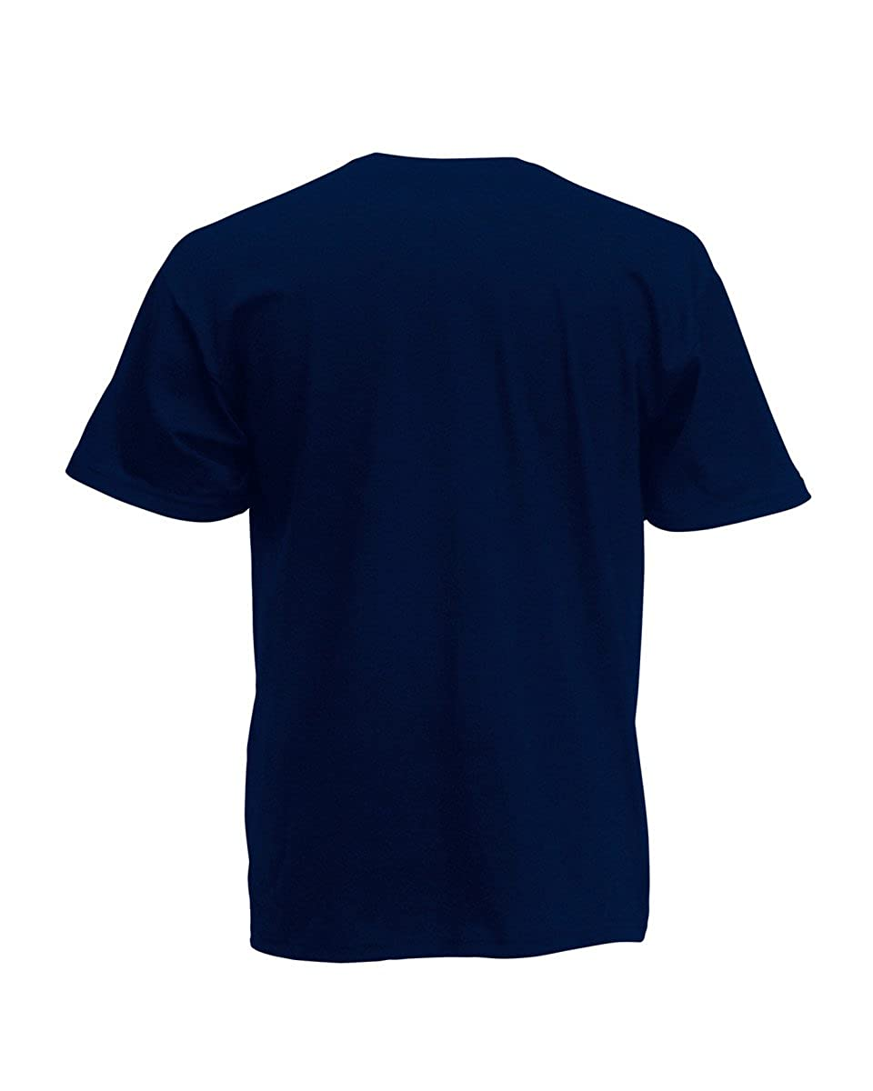 Fruit of the Loom Adults Screen Stars Original Full Cut Mens T-Shirt Short Sleeve Round Neck Casual Top