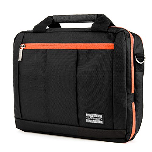 El Prado Collection 3 in 1 Backpack and Messenger Bag for Microsoft Surface Pro 4 12' Tablet & Surface Pro 3 12' Tablet (Orange)