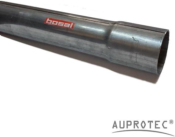 40 Cm Universal Auspuffrohr Ø 55 Mm Einseitig Aufgeweitet Abgasrohr Rohr Abgasanlage Pkw Lkw Auto
