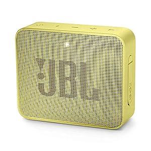 JBL Go 2 - Mini enceinte Bluetooth Portable - Étanche pour Piscine & Plage Ipx7 - Autonomie 5hrs - Qualité Audio JBL - Jaune 10