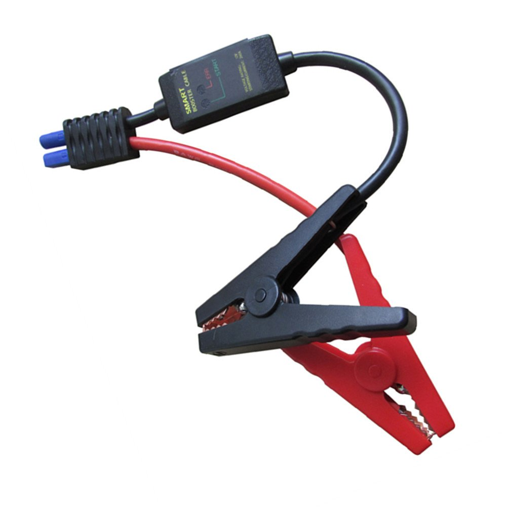 Replacement 12v Jump Starter Smart Cable for 12v Car Battery Jump Starters and Mini Car Jump Starter Battery Clips HOLIGHT CAASMCABLE08