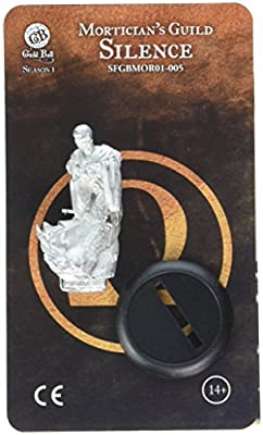 Steamforged Games Guild Ball Mortician Silence Kit by Lion Rampant Imports Ltd
