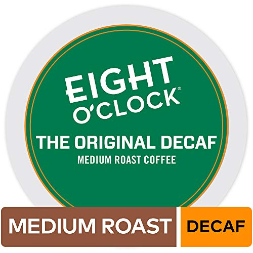 Eight O'Clock Coffee The Original Decaf, Single Serve Coffee K-Cup Pod, Medium Roast, ()