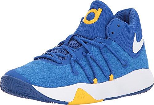 Nike Kids' Grade School KD Trey 5 V Basketball Shoes (Royal Blue/White, 3.5 D(M) US) (Shoes Basketball Kd Boys)