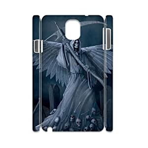 chen-shop design case Of Grim Reaper 3D Bumper Plastic customized case For samsung galaxy note 3 N9000 high XXXX