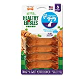 Nylabone Healthy Edibles Puppy Chew Treats, Turkey & Sweet Potato, X-Small, 8 Count