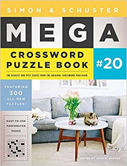 Simon Schuster Mega Crossword Puzzle Book 20 20 S S Mega