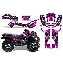 CreatorX Can-Am Outlander 800 Xmr Graphics Kit Decals Stickers Bolt Thrower Pink