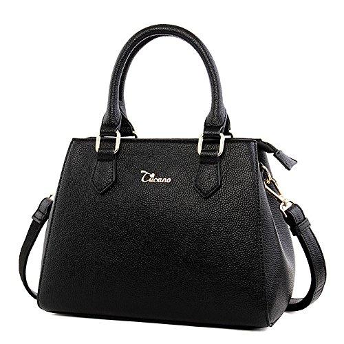 Single Leodika Bag Women's Satchel Lady's Shoulder Spring Black Handbag Style Black Summer New wYAxw