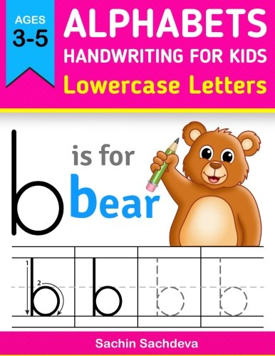 (Alphabets Handwriting for Kids (Lowercase Letters): Learn to Write ABC letters for kids, preschoolers and girls )