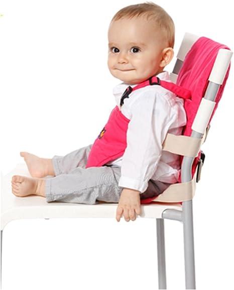 Bebé portátil fácil arnés de asiento silla para comer asiento ...