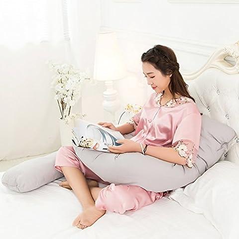 pregnancy pillow/Waist side sleeping pillow/ pregnant woman/Multifunctionu sleeper/ stomach lift pillow/ breastfeeding pillow-D
