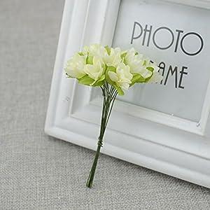 Vivavivo1234 Wreath Material Artificial Flowers Artificial Cherry Simulation Silk Flower Bride Wrist Wedding Decoration 2 87