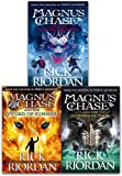 magnus chase and the gods of asgard series collection 3 books set by rick riordan book 1 3