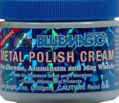 POLISH CREAM METAL 7OZ (Pkg of 3) by Blue Magic