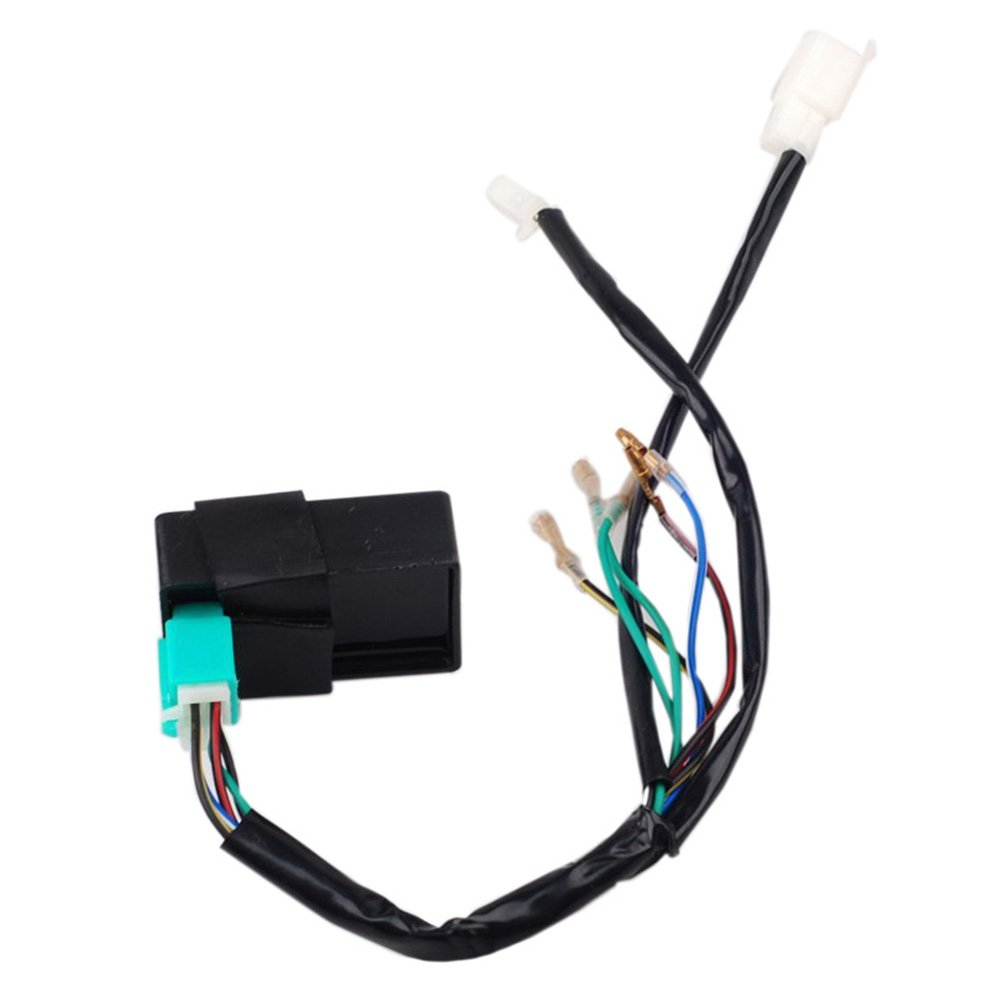 Jcmoto Wire Harness Wiring Loom Cdi Coil Magneto Ssr Pit Bike Ignition Rebuild Kit For Kick Start Dirt 50 125cc Automotive