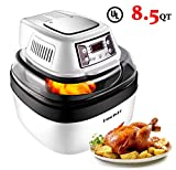 DmofwHi Air Fryer XL 8.5 QT, Digital Programmable Large Hot Air Fryer Toaster Oven 6 Preprogrammed Settings with Accessories, Viewing Window, Oilless Low-Fat Cooker For Sale