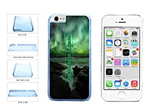 Stoner Green Is Serene Clear Plastic Phone Case Back Cover Apple iphone 6 4.7 ( es screen) includes fashion case Cloth and Warranty Label