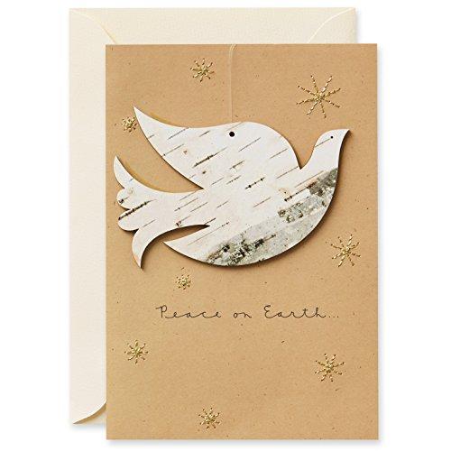 Hallmark Signature Collection Holiday Card: Peace on Earth Ornament
