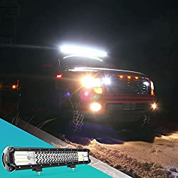 LED Light Bar Nilight 20Inch 288w Triple Row Flood
