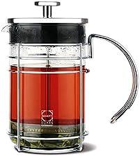 GROSCHE Madrid French Press Coffee Maker, Tea Press & Coffee Press 8 cup 34 oz 1L with German Glass