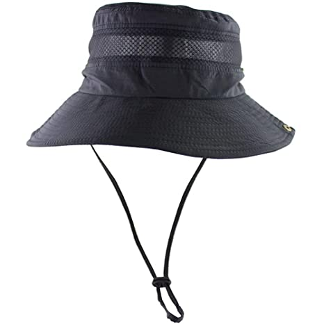 4fc4d3c53 TUSFTAY Men Women Sunscreen Cooling Hat Ice Cap Heatstroke Protection  Cooling Cap Wide Brim Sun Hat with UV Protectionfor