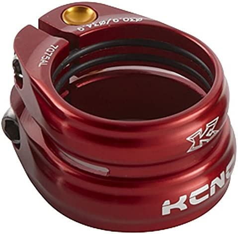 KCNC SC-13 Twin Seatpost Clamp 34.9-30.9mm Alloy Bike Red