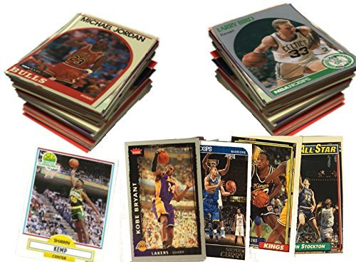 SLD Of The Adidas Group NBA Basketball Card Collector Box with Over 500 Cards - Grab Box Lot - Warehouse Sale! ()