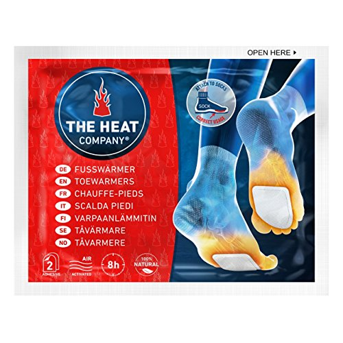 THE HEAT COMPANY voetwarmer – 5, 15 of 40 paar – EXTRA WARM – zelfklevend – voetenwarmer – 8 uur warme voeten – klaar…