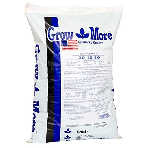 Grow More 5705 Water Soluble Fertilizer 30-10-10, 25-Pound