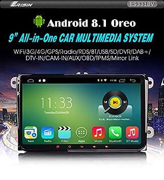 Autoradio Erisin Es4880e 7  Android 9.0 Canbus Gps-Ger/ät f/ür Mercedes E//CLS//G W211 W219