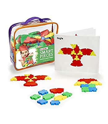 Twinkle me Interlocking Puzzle Toy | Big Pieces |Great for Occupational Therapy and Fine Motor Skill Development | Build STEM Skills At Home |Car Road Trip Pocket Game | Ages 3 and up |Toddler Fun