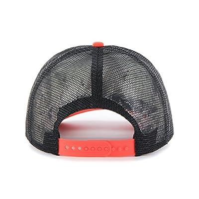 MLB Miami Marlins Women's Glimmer Captain Adjustable Snapback Hat, Black