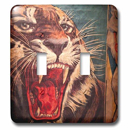 3dRose lsp_89300_2 Florida Sarasota Ringling Museum Circus Museum Us10 Wbi0588 Walter Bibikow Double Toggle Switch