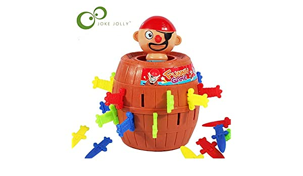 Small Or Large Size Pirate Party Toys Barrel Uncle Sword Game Pirates Barrels Pirate Crisis Barrels Novel And Whimsy Toy Wyq Novelty & Gag Toys