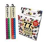 Tenzi for 8 Players - 8 Sets of Ten Dice with Bonus 77 Ways to Play Tenzi by Tenzi