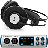 Presonus Studio 26 USB Audio Interface with AKG K72 Closed Back Studio Headphones