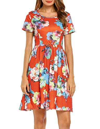 90s floral dress - 8