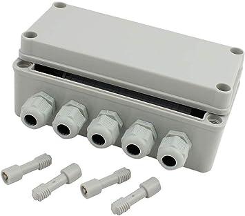 Uotyle caja de conexiones eléctrica con conector Gland 7 pulgadas ...