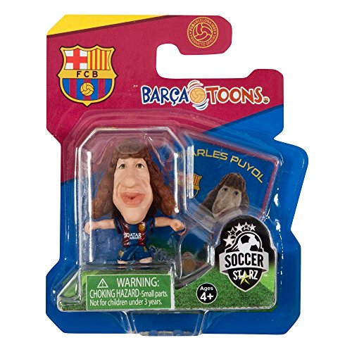 ([ Football ] Stars BARCA TOONS ( deformed Figure) Carles Puyol (FC Barcelona / Home ) Asian version package SOCCERSTARZ (*))